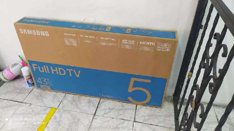 Televisor samsumg smart TV de 43 pulgadas wifi youtube