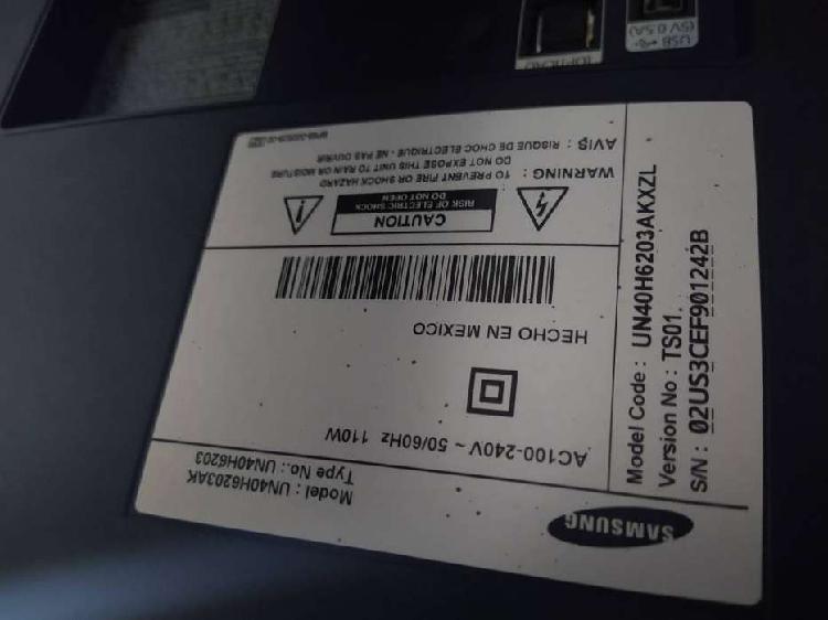 Tv Samsung Smart para REPUESTOS