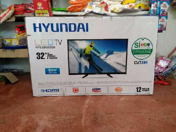 Vendo TV Led ultrafino Marca Hyundai Con su factura original