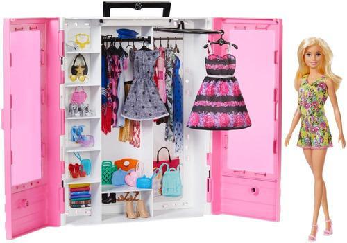 Barbie Closet De Lujo Con Muñeca