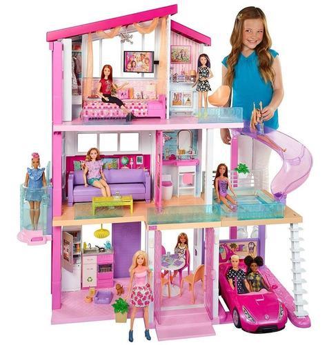 Barbie Mega Casa De Muñecas De Los Sueños Mansión