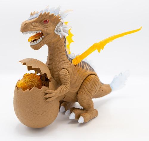 Dinosaurio Huevo Bebé Juguete Con Luces Y Sonidos