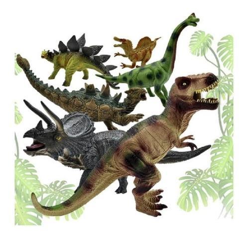 Dinosaurios Set Juguete Didactico Jugueteria Realista