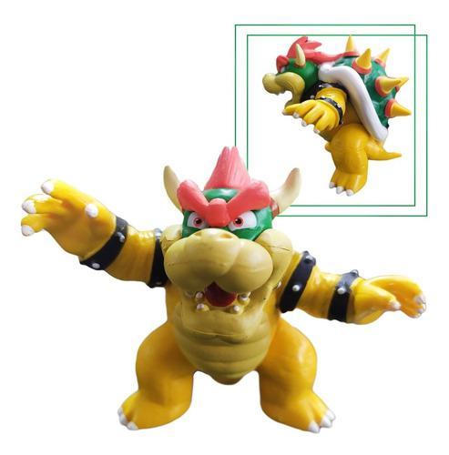 Figura Mario Bros Colección Bowser Juguete Figuras