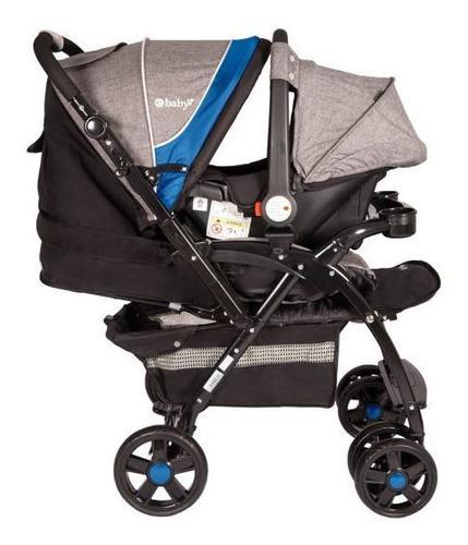 Coche Para Bebé + Silla Para Carro Antireflujo Ebaby