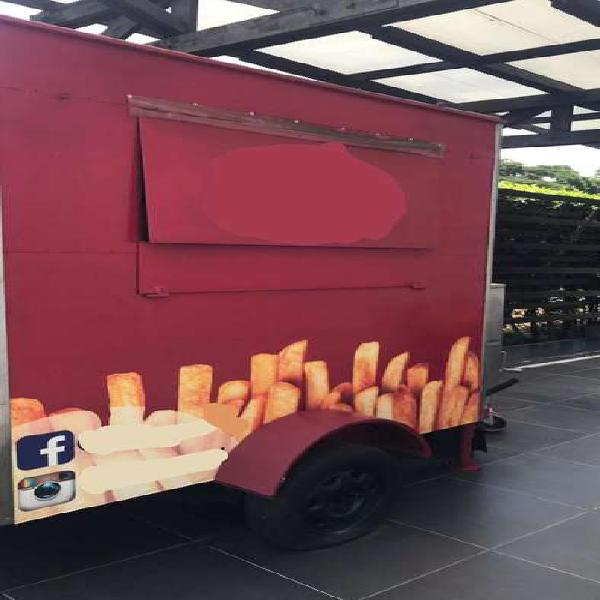 Foodtruck) trailer de comidas