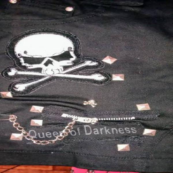 Minifalda Queen of Darkness