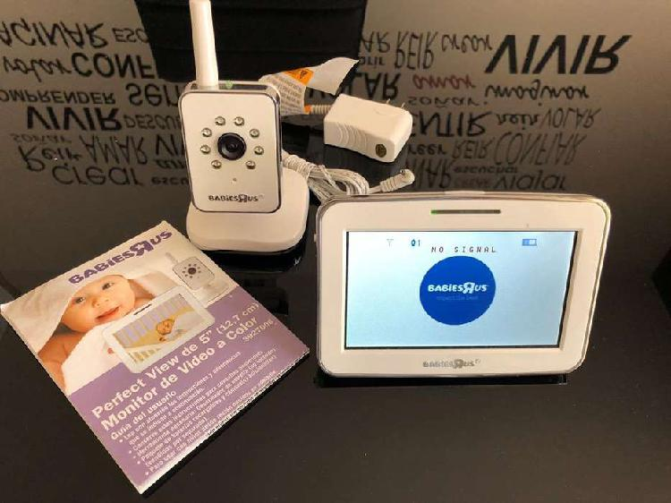 Monitor de audio y video para bebe