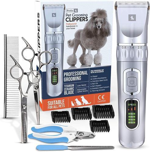 Máquina Afeitar Para Mascotas Profesiona Inalámbrico 12