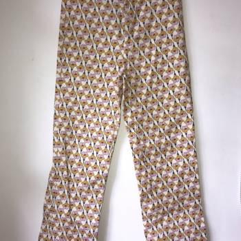 Pantalon estampado ZARA