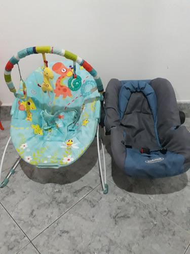 Silla Vibradora Bebe Y Silla Para Carro De Bebe