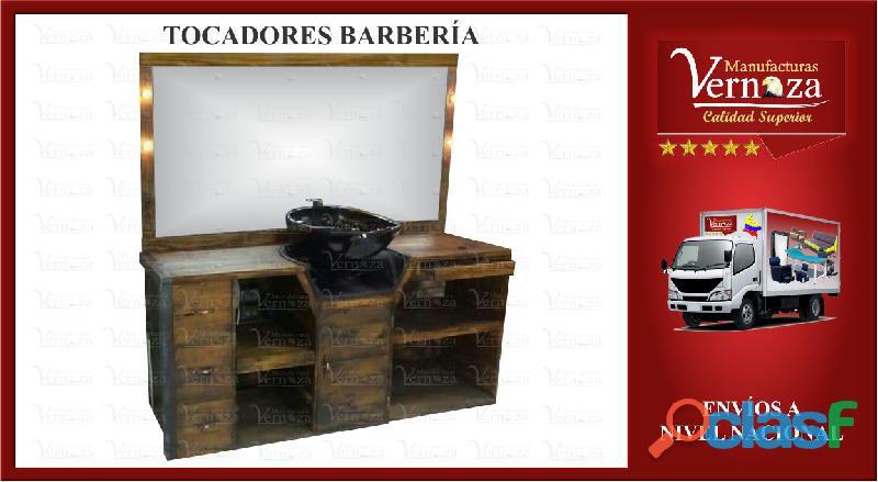 18 PRECIOSOS TOCADORES DE BARBERIA, SANTA MARTA Y MAS