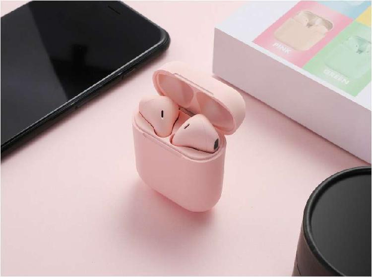 Audífonos I12 Táctil Inalámbricos Tipo AirPods Bluetooth