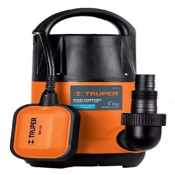 Bomba de agua sumergible truper 1 hp NUEVA