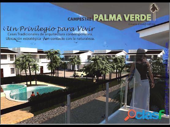 CASAS CAMPESTRES EN PALMA VERDE