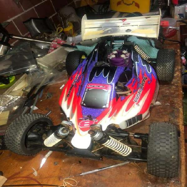 Carro buggy RC motor a gasolina