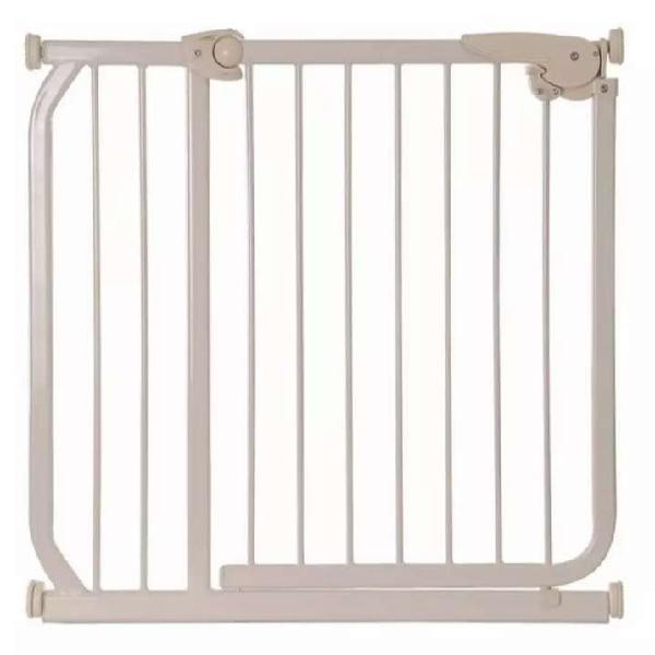 Puerta De Seguridad Infantil De 65 X 70 Cm A 86 Cm Beige