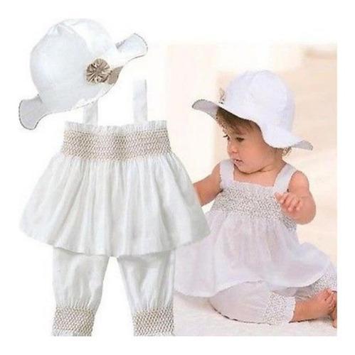 Ropa Conjunto De Bautizo Para Bebé Niña