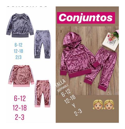 Sudadera Conjunto Niña Niño Ropa Buzo Pantalón Moda
