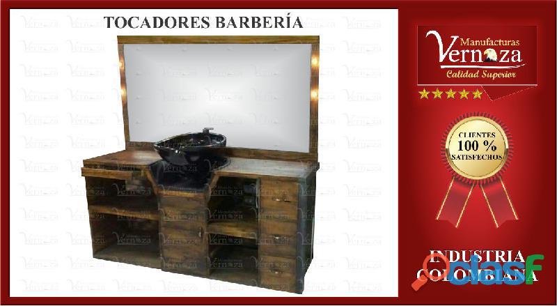 .14. TOCADORES PARA BARBERIA LA COMODIDAD A TU ALCANCE