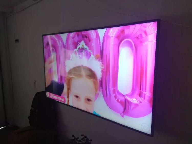 """A la venta impecable smart tv 58"""" uhd 4k samsung como nuevo"""