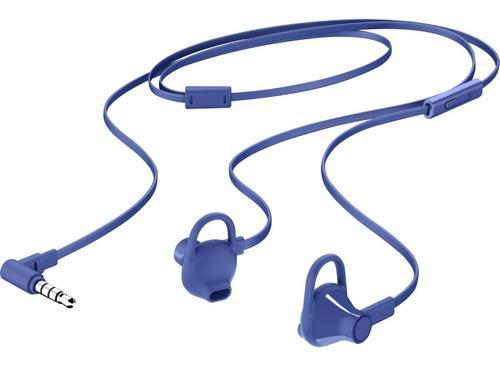 Audífonos Manos Libres Hp 150 In Ear Doha Negro Azul Marino