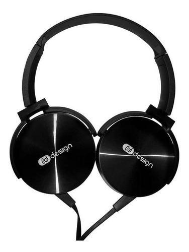 Audifonos Design Hpover 200k Manos Libres Alambricos + Mic