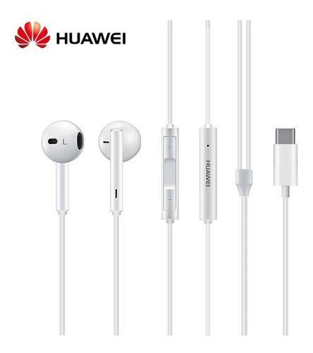 Audifonos Manos Libres Huawei Cm33 Conector Type C P30 Pro