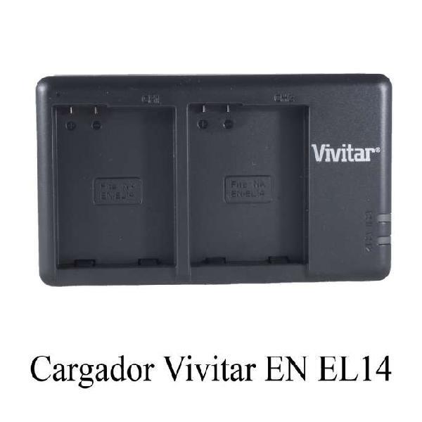 Cargador Doble Para Nikon En El14a Para D5600 D5300 D3300