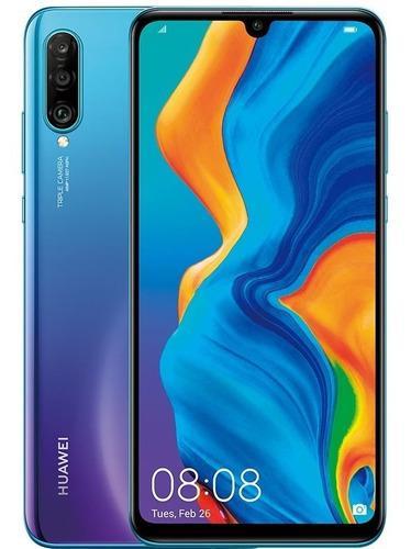 Celular Huawei P30 Lite Azul 128gb 4 Ram 1 Año De Garantía