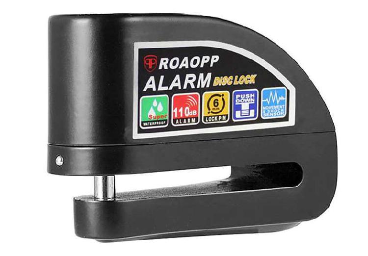 Cerradura de alarma de motocicleta antirrobo