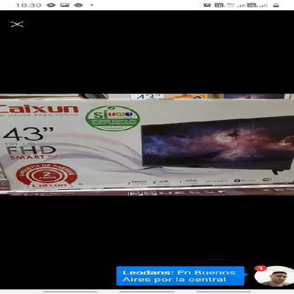 Led 43 caixun smart tv full hd