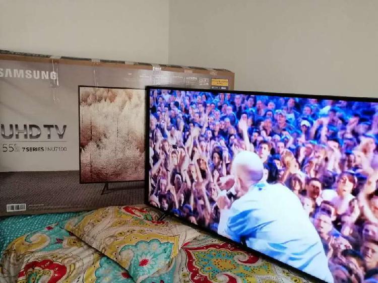 Televisor Samsung 55 pulgadas UHD 4K como nuevo