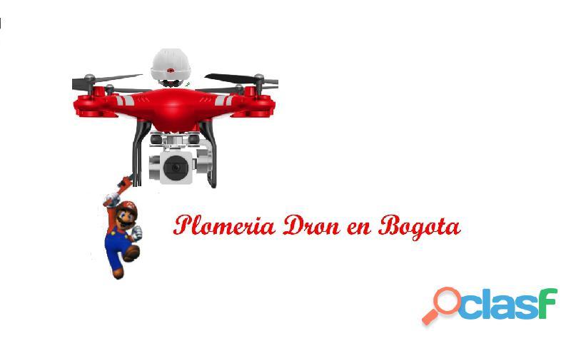 plomeria dron en bogota 3193512613 llame ya