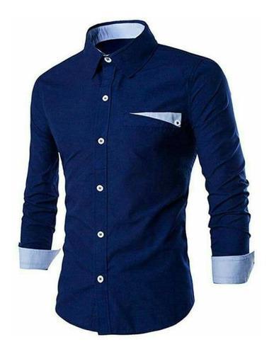 Camisa Casual Para Caballeros
