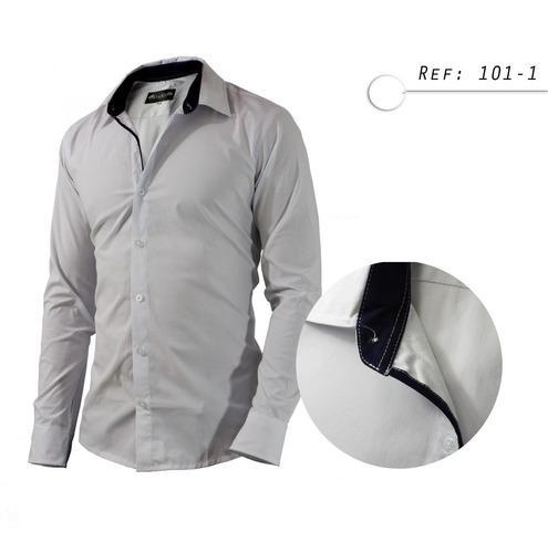 Camisa De Hombre Informal,casual, Manga Larga