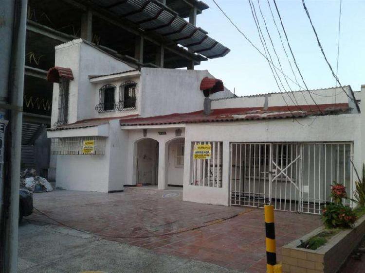 Casa En Arriendo En Barranquilla El Porvenir CodABINU15591