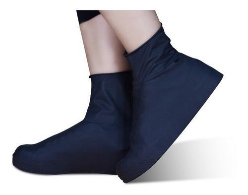 Funda Protector Zapato Impermeable Anti Fluidos Negro (L)