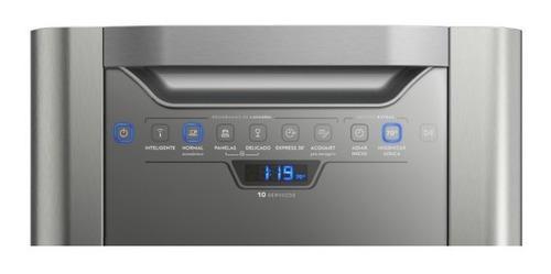 Lavaplatos Electrolux 50 Piezas Ehfb10t4ss Gris Lava Ck839