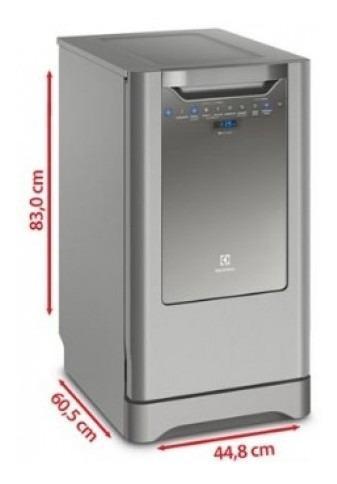 Lavaplatos Electrolux 50 Piezas Ehfb10t4ss Gris Lavap Lk839