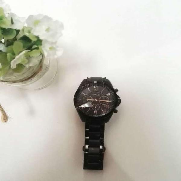 Reloj Fossil Negro para Mujer