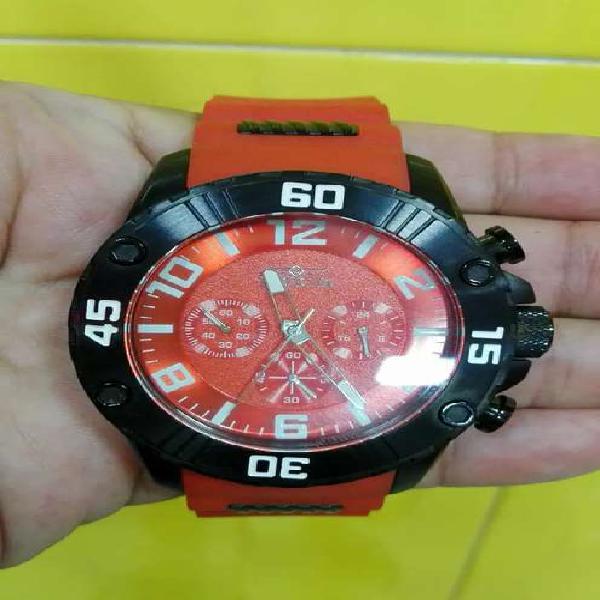 Reloj Invicta Sport Rojo Original Poco Uso Impecable