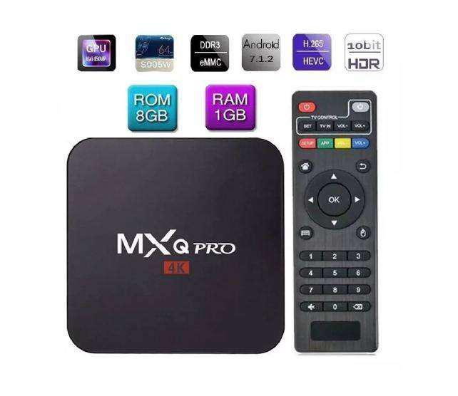 Tv Box 4k 8gb Ram 1gb Quad Core Convierte Tv A Smart Tv