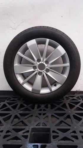 4 Rines Nuevos 16 Pulgadas Volkswagen 4llantas Dunlop Nuevas