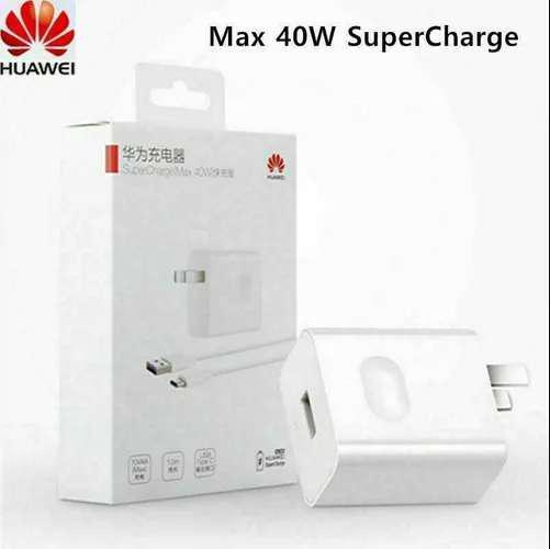 Cargador Huawei Original Supercarga 40W P20, P30 Pro, P40,