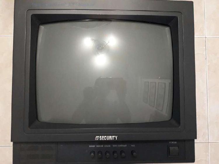 Monitor Analogo para camaras CCTV a color para Sistema de