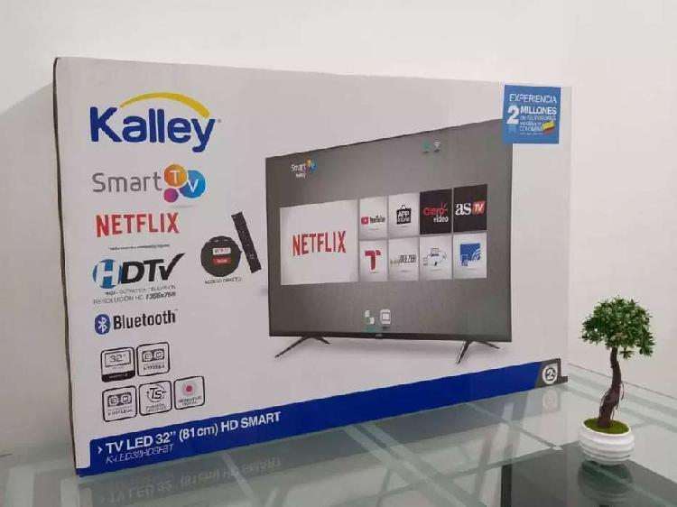 Smart TV Kalley de 32 pulgadas nuevos