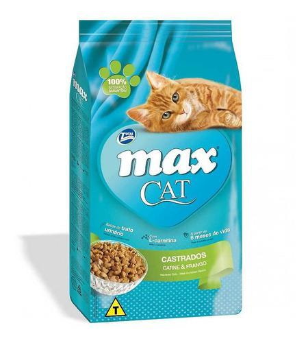 Concentrado Para Gato Total Max Todas Las Razas Castrado 3kg