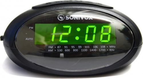 Radio Reloj Despertador Sonivox Vd-rc758