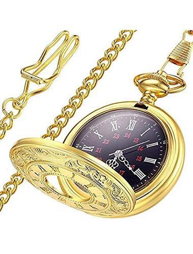 Reloj De Bolsillo Para Hombre Y Mujer Lymfhch Clasico Y Liso